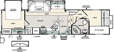 forest river fifth wheel floor plans 2012 forest river sandpiper select 32qbbs fifth wheel
