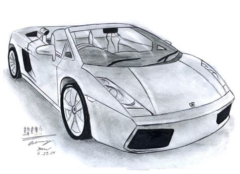 Lamborghini Gallardo Drawings Lamborghini Gallardo Spyder By Toyonda On Deviantart
