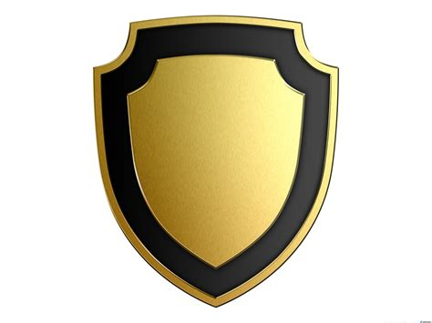 shield psd template gold and silver shields psdgraphics
