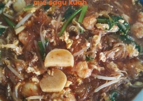 resep mie sagu kuah oleh dwi astuti cookpad