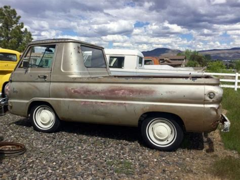 dodge a 100 trucks for sale barn find 1966 dodge a100 truck with auto trans
