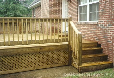 Deck Railing Designs With Lattice - top 10 deck railing ideas for your home dapoffice