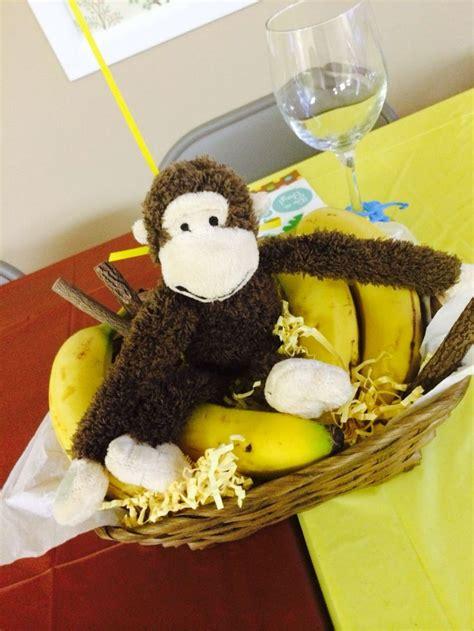 monkey baby shower centerpieces baby shower 2 pinterest