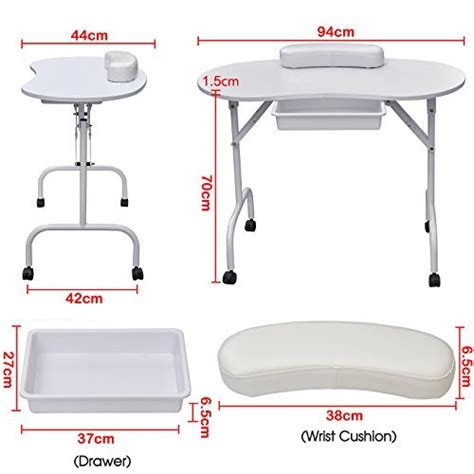 Nail Technician Table Ls by World Pride Portable Manicure Table Nail Technician Desk