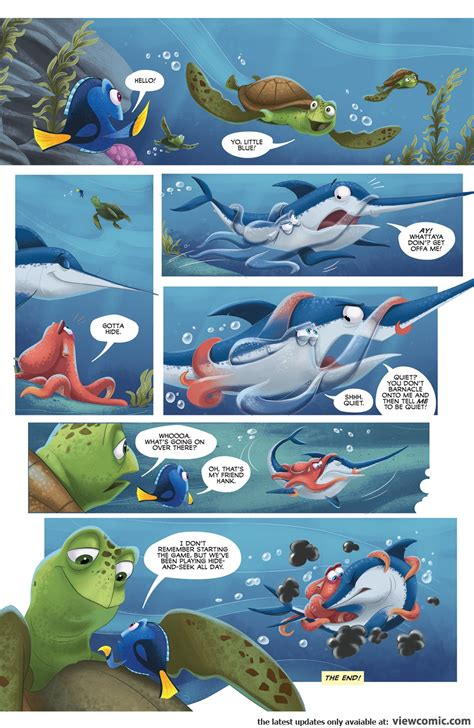 Disney Pixar Finding Dory disney pixar finding dory viewcomic reading comics