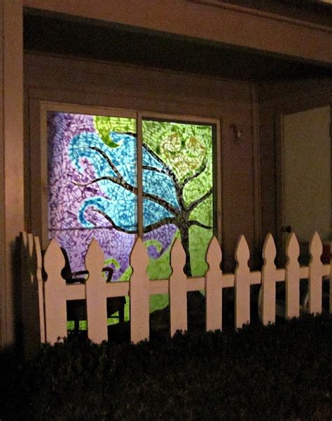 How To Make Paper Windows - 17 best images about stained glass diy on