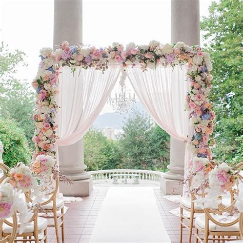 Wedding Banner Wall by Best 25 Ceremony Backdrop Ideas On Reception
