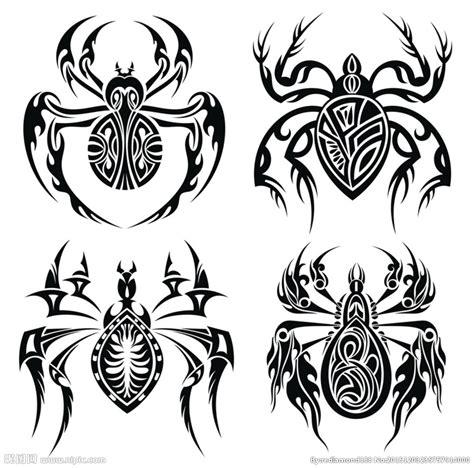 黑白剪影 矢量素材 图案 蜘蛛设计图 野生动物 生物世界 设计图库 昵图网nipic com