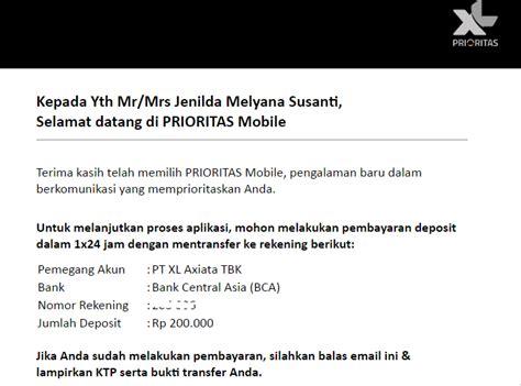 email xl prioritas undangan upgrade xl prioritas pascabayar blogging is