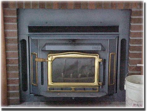 unlined wood stove insert slammer a to z chimney services