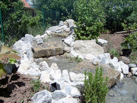 bachlauf abdichten wasseranlagen die gartenkobolde