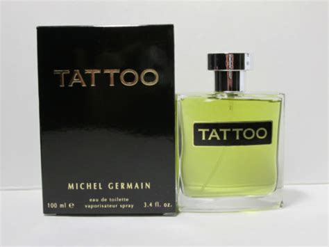 tattoo michel germain by michel germain 3 4 oz edt for om fragrances