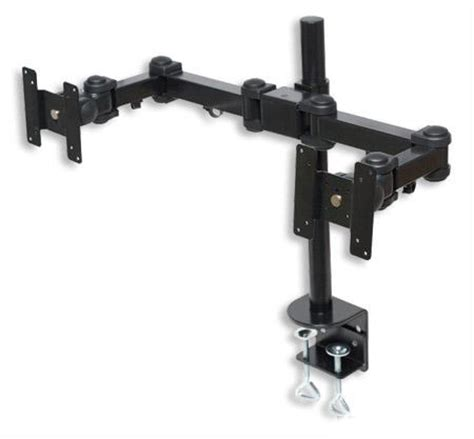 Tyke Supply Dual Monitor Stand 194b Tyke Supply Dual Lcd Monitor Stand Desk Cl