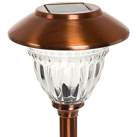 copper solar path lights energizer stainless steel led solar path lights copper