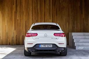 Mercedes Amg Coupe Official 2018 Mercedes Amg Glc 63 And Glc 63 Coupe Gtspirit
