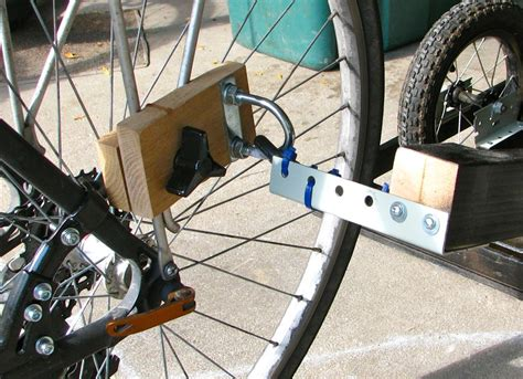 bike trailer hitch diy diy bike cargo trailer