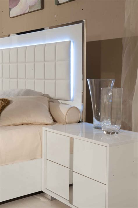 san marino bedroom set modrest san marino modern white bedroom set modrest made