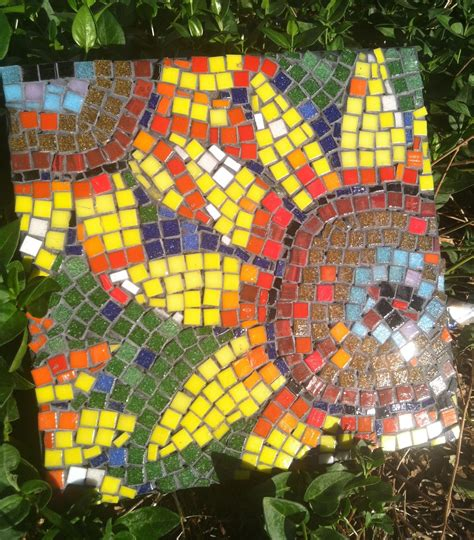 How To Make A Mosaic L by Flying Shoes Studio After School Mosaic Class