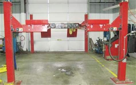 Used Alignment Rack by L421 14k Open Lift Rack