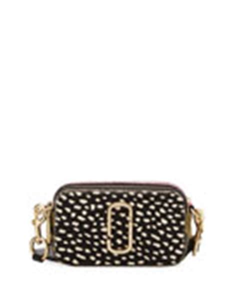 Marc Snapshot Glitter Crossbody Bags 4799 marc snapshot flashed leather bag neiman