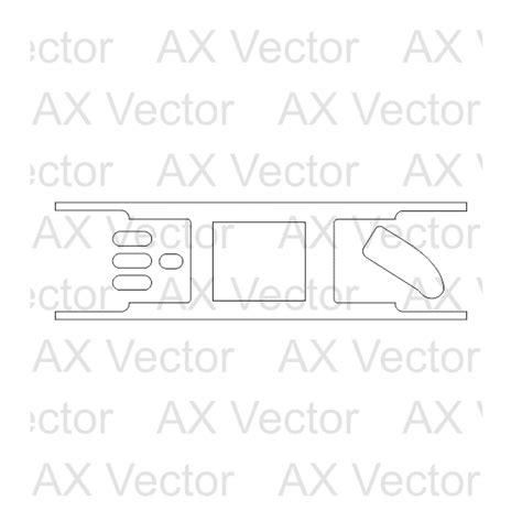 Amazon Echo Dot 2 Vector Template Echo Dot Skin Template