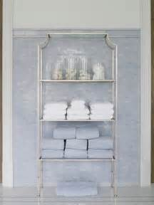 Etagere For Bathroom silver etagere traditional bathroom phoebe howard