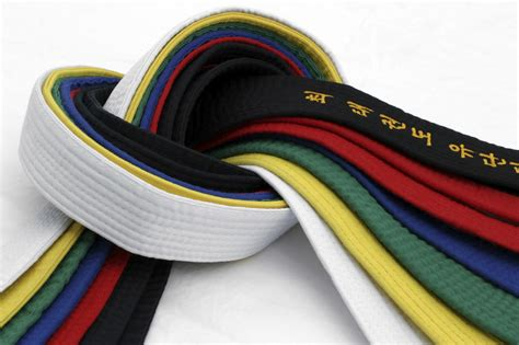 taekwondo belt colors general taekwondo information belts