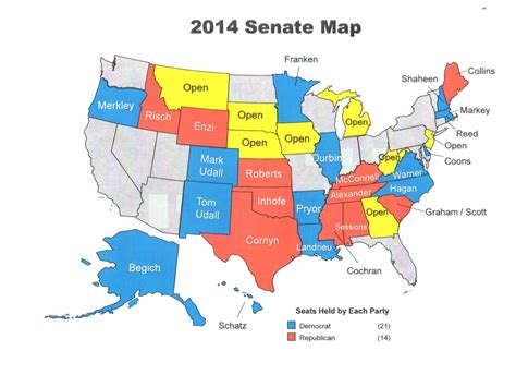us senate election map 2014 could the senate go nuclear in 2014 in the loop