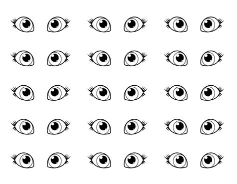 printable pictures of eyes free printable eye coloring pages free best free