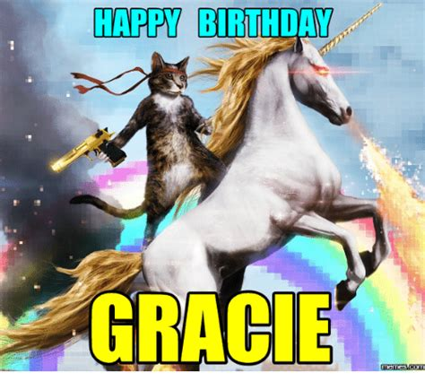 Horse Birthday Meme - happy birthday grace memes com grace meme on sizzle