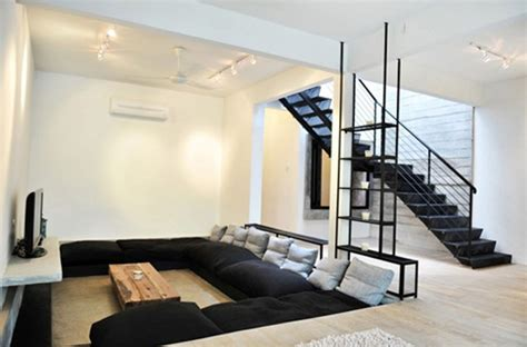 pit room pits and sunken living room design