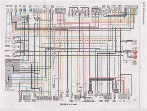 2007 gsxr 600 wiring diagram 28 wiring diagram images