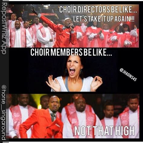 Choir Memes - choir humor praise team pinterest