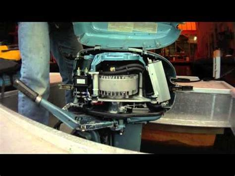 electric boat conversion electric outboard part i conversion youtube