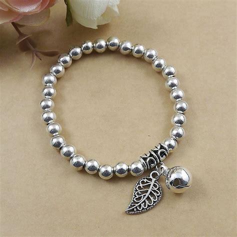 how to make stretch bead bracelets aliexpress buy 2015 fashion silver tone s