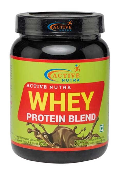 Whey Protein Blend Active Nutra Chocolate Whey Protein Blend Exporter