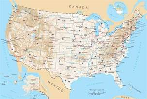state reference map usa general reference map mapsof net