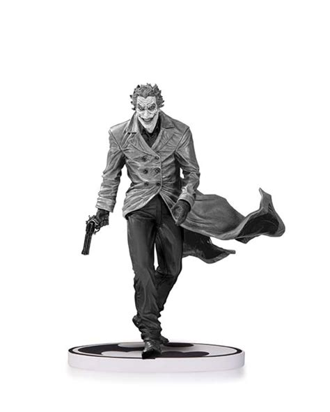 joker statue by jim lee 2nd edition batman black and white spac dc collectibles october solicits arrow flash batman