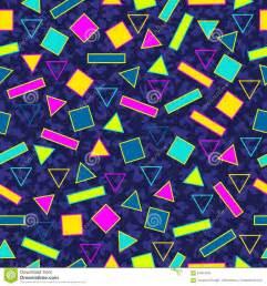 80s design retro 80s seamless pattern background stock vector image 57384505