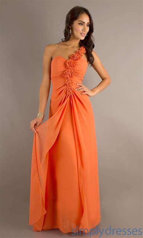 Dresss Orange by Bebe Orange Dress Pics One Shoulder Dress
