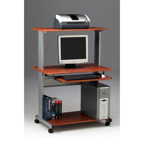 Laptop Desk Station Mobile Multimedia Computer Workstation
