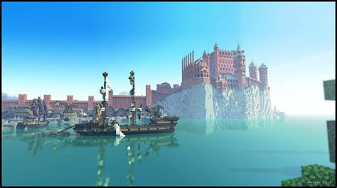 king s landing game of thrones minecraft on pinterest minecraft minecraft projects and