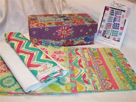 Complete Quilt Kits summer house complete quilt kit
