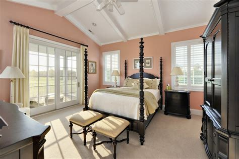 coral walls bedroom sherwin williams mellow coral interiors by color 3 interior decorating ideas