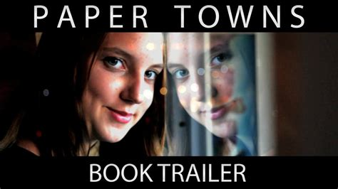paper book trailer paper towns book trailer