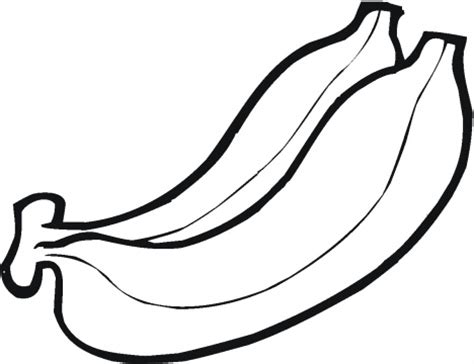 coloring page for banana banana colouring picture coloring part 3
