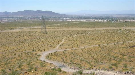 Henderson Nv Search Henderson Nv Looking West At The Valley From The Top Of The Quot B Quot Mountain In The