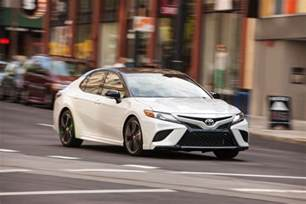 Toyota Camry 2018 Toyota Camry Prices And Fuel Economy More Money