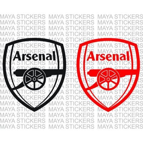 arsenal wall stickers arsenal football club decals