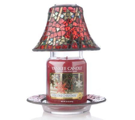 candele yankee candle italia yankee candle gold mosiac shade tray large jar